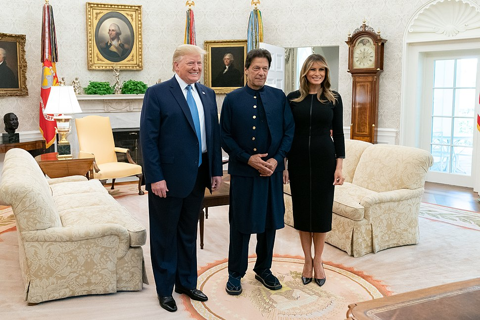 President Trump Meets with the Prime Minister of Pakistan (48350243921)