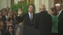 File:President Trump Participates in the Swearing-In Ceremony of the Honorable Brett M. Kavanaugh.webm