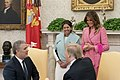 President Trump and the First Lady Welcome Colombian President Iván Duque Márquez and his wife Mrs. Maria Juliana Ruiz Sandoval to the White House (46172300845).jpg