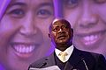 President Yoweri Museveni of Uganda, speaking at the London Summit on Family Planning (7550487892).jpg