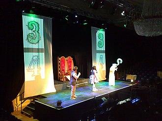 Robin Mitchell - 2013 stage show of Princess Pumpalot: The Farting Princess at Edinburgh Festival Fringe