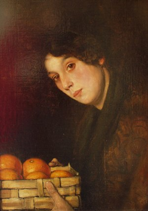 Benjamin Prins - Image: Prins, Benjamin, Amsterdam, 1860 1934, Fruitmeisje, Fruitseller, 1902