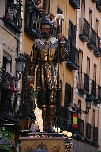Isidore the Laborer - Procesión San Isidro Labrador -Madrid