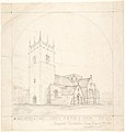 Proposed Restoration of the Church of the Holy Trinity and St. Mary, Old Clee, Lincolnshire MET DP804234.jpg