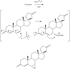 Prorenone - Image: Prorenone Synthesis