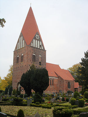 Gägelow - Image: Proseken Kirche 1