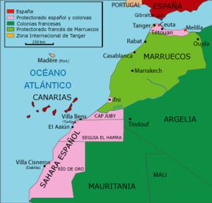 Protectorado de marruecos y s 225 hara espa 241 ol 1925 1975