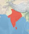 Psittacula cyanocephala map.png