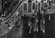 Puget Sound Naval Shipyard aerial photo 1940