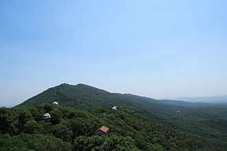Purple Mountain (Nanjing) - View from the Purple Mountain Observatory