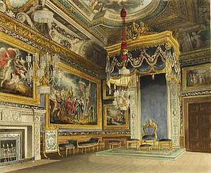 William Henry Pyne - Image: Pyne Kings Audience Chamber Windsor Castle edited