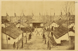 Quarters for Chinese Troops. Gansu, China, 1875 WDL1911