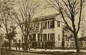 45th Regiment Massachusetts Volunteer Infantry - Image: Quarters of Company A at Newbern