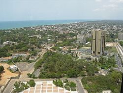 A view of Lomé