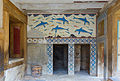Queen's Megaron with dolphins Knossos Palace.jpg