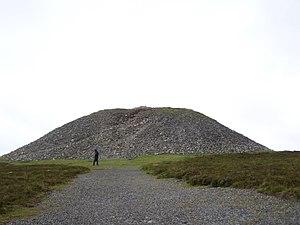 Medb - 'Medb's cairn' at Knocknarea