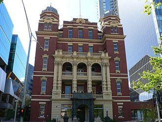 John James Clark - Melbourne (Queen Victoria) Hospital pavilion