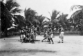 Queensland State Archives 5762 Kebesu war dance Yorke Island Torres Shire June 1931.png