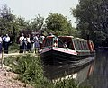 Queueing at Colt Hill Wharf, Basingstoke Canal - geograph.org.uk - 482553.jpg