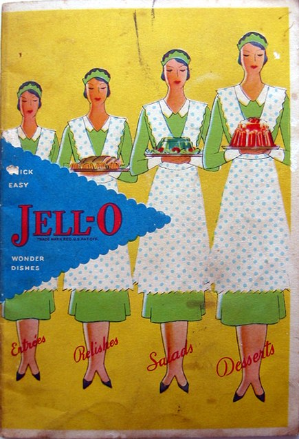 Jello vintage cookbook