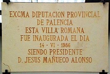 Quintanilla de la Cueza Villa romana Tejada 001.jpg