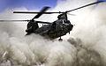 RAF Chinook Creates Dust Cloud Landing in Afghanistan MOD 45153179.jpg