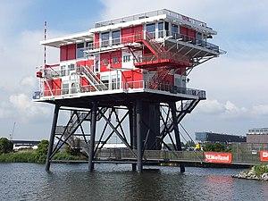 REM Island - REM Island as an Amsterdam restaurant