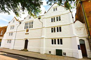 Royal Grammar School, Guildford - The Old Building of the Royal Grammar School, Guildford in 2013