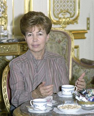 Raisa Gorbacheva - Image: RIAN archive 684237 Raisa Gorbacheva, spouse of CPSU General Secretary Mikhail Gorbachev