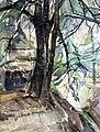 RKD De Kruisboom, c. 1917 watercolor by Herman Kruyder.jpg