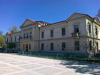 Sulina - Image: RO TL Sulina Danube Comission palace