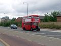 RT bus JXC432 Silvertown Way Aug 08.JPG