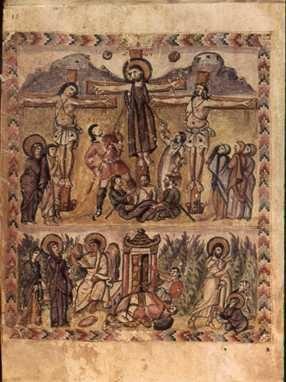RabulaGospelsCrucifixion