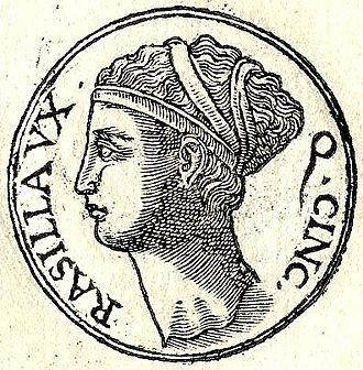 Lucius Quinctius Cincinnatus - Image: Racilia