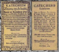 Racovian Catechism, cover, pol-1605, lat-1609.png