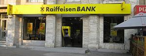 Raiffeisen Bank (Romania) - Raiffeisen branch in Bucharest