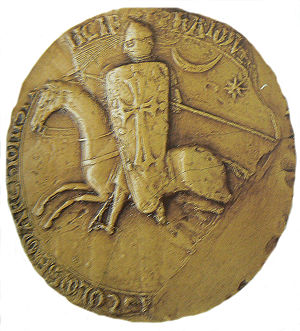 Raymond VI, Count of Toulouse - Seal of Raymond VI