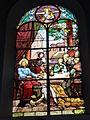 Raismes (Nord, Fr) Église Saint-Nicolas, vitrail 11.JPG
