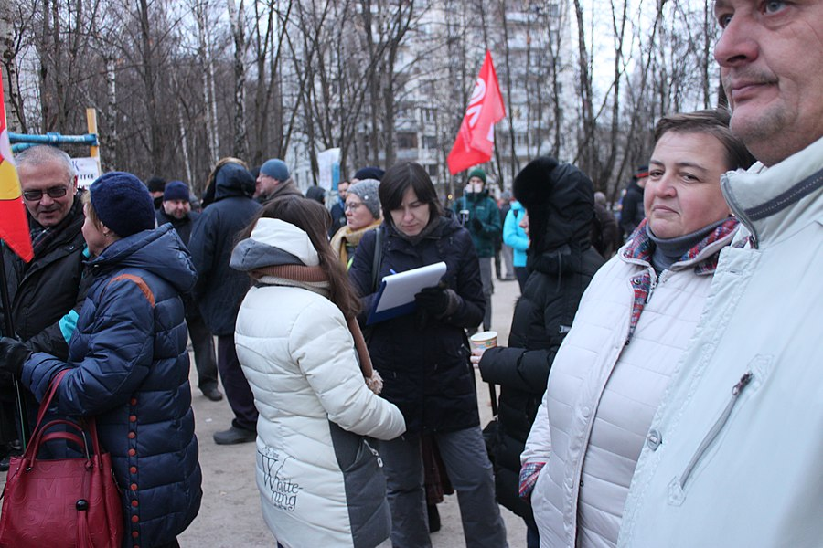 Rally for the termination of construction and restoration of the square (2018;11;17) 111.jpg