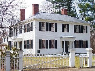 Ralph Waldo Emerson House - Image: Ralph Waldo Emerson House (Concord, MA)