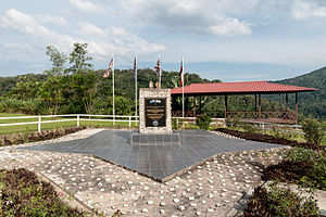Last POW Camp Memorial - The memorial.