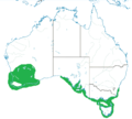 Range map of Thinornis rubricollis.png