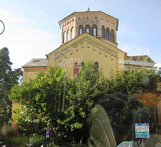 Rapallo - The former English church in Rapallo, St George's Church.