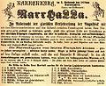 Ravensburg Fastnacht 1878 Narrhalla.jpg