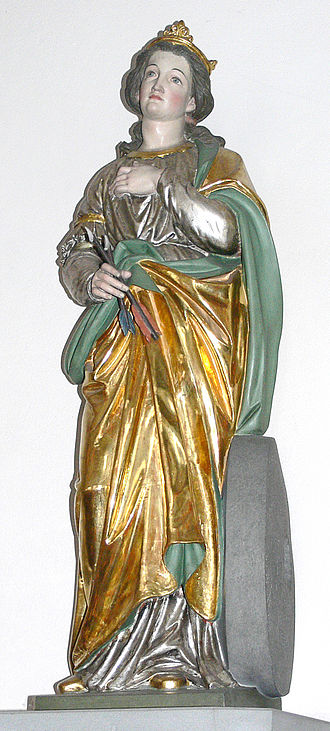 Christina of Bolsena - St Christina, by Moriz Schlachter, (c.1889)