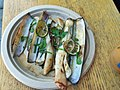 Razor Clams with lime, herbs, olive oil chile, garlic.jpg