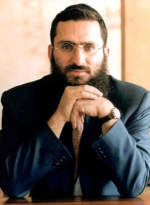 English: Rabbi Shmuley Boteach, founder of the...