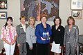 Receiving the American Agri-Women's Champion of Agriculture Award (7341608886).jpg