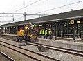 Reconstructie perron station Apeldoorn, oktober 2014 (1).jpg