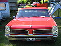 Red Pontiac at Power Big Meet 2005.jpg